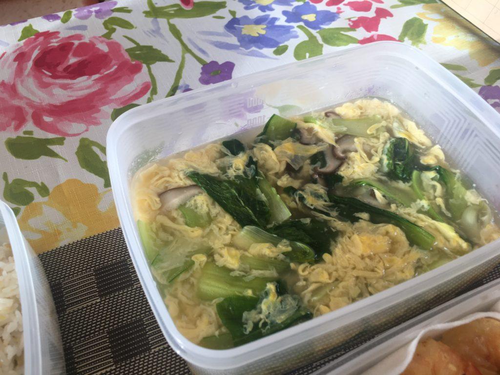 料理教室マンツーマン中華のスープ